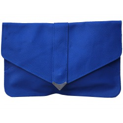 Leder Clutch Tasche gross...