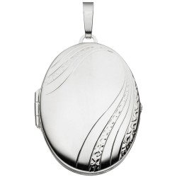 Medaillon oval 925 Sterling...
