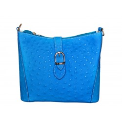 Woman leather bag neon...