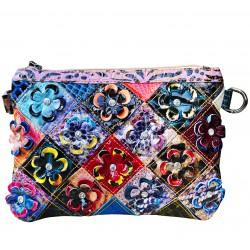 Clutch bag leather bag...