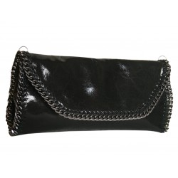 Italian leather clutch...
