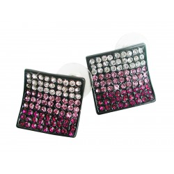 Stud earrings violet
