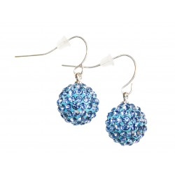 Dangle earrings with...