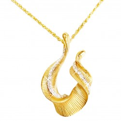 Necklace color gold