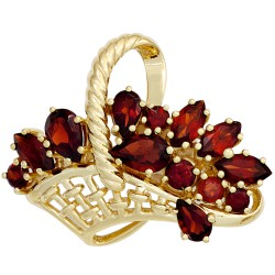 Brooch basket made of 333...
