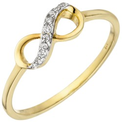 Ladies finger ring infinity...
