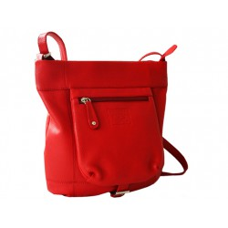 Leather bag shoulder bag...